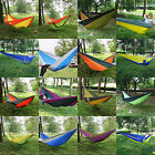 Travel Camping Outdoor Nylon Fabric Hammock Parachute Sleep For Double Person