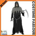 Mens Grey Ghoul Zombie Halloween Hangman Game Of Thrones Costume All Sizes