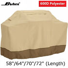 600D Heavy Duty BBQ Grill Cover Gas Barbecue Waterproof Weber 58