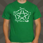 BIG BANG THEORY SHELDON ROCK PAPER SCISSORS LIZARD SPOCK MEN'S T SHIRT S M L XL