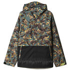 ADIDAS Men's 2016 Snowboard Snow Print / Black 10K RIDING JACKET