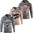 Soulstar Embroidered Front Varsity Hoodie  Mens Size