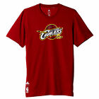 adidas Cleveland Cavaliers NBA Lunettes Basketball T-Shirt Rouge