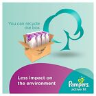 Pampers Active Fit Nappies Monthly Saving Pack Baby Dry Size 3, 4, 4+, 5, 5+, 6