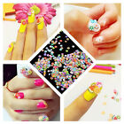 1000Pcs DIY Fruit Fimo Polymer Clay Slices Nail Art Sticker Tip Decorations Hot