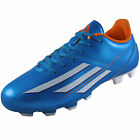 Adidas Junior Kids Boys F5 TRX FG Football Boots Solar Blue *AUTHENTIC*