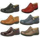 Ladies Clarks Unstructured Un Loop Leather Slip On Shoes