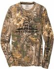 Dont't Tread on Me Real Tree Camo Long Sleeve T Shirt MILITARY PATRIOTIC  S-3XL