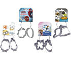 Metal Cookie Cutter Set: Star Wars / Spiderman / Frozen / Minions New + Official