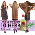 All Natural Superpowers Ayurvedic 10 Herb Coconut Hair Growth Oil, Asha + Miel