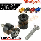Aluminium Lightweight Swingarm Spools Sliders M8 / 8mm for Suzuki B-King