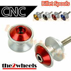 Aluminium Savage Swingarm Spools Sliders M10 / 10mm for Suzuki GSXR750 1988-1989