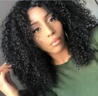 Curly Silk Top Full Lace Wigs Indian Remy Human Hair Jerry Curl Lace Front Wigs