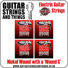 Ernie Ball NICKLE with WOUND G (3rd) Electric Guitar Strings 2210 2208 2206 2204