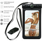 Color+ Waterproof Underwater Pouch Bag Dry Case Cover + Compass For Cell Phone