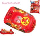 Disney Cars Horn Wheel Inflatable Float Boat Swimming Ring or Arm Bands Baby Kid