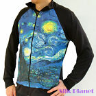 Vincent Van Gogh Starry Night Sky Sweater Jacket Shirt Top Mens Fine Art Print