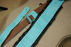 Perri's Leather 2-Inch Suede Padded Guitar Strap with Deluxe