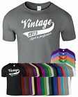 VINTAGE 1973 New Mens T-Shirt Top Funny Birthday Present Tee Low Price