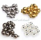 10Sets Silver Plated/Gold Plated Round Ball Magnetic Findings Clasps