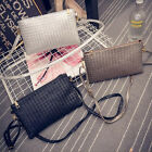Women Shoulder Bag Handbag Leather Bag Envelope Clutch Bag Woven Tote Bag Purse