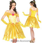 K147 Princess Belle Storybook Fairytale Fancy Dress Costume Beauty & The Beast
