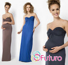 Ladies Maternity Evening Maxi Dress Bandeau Party Ball Gown Plus Sizes 8-18 FM25