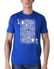 Los Angeles Dodgers King of Hearts Logo Graphic Tee Shirt - Card Deck Graphic on Ebay