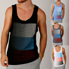Mens Premium Printed Forza Singlet Festival Street Causal Wear Loose Fit Singlet
