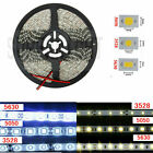 16.4ft 5050/3528/5630 SMD 300/600Leds Cool/Warm White LED Strip Light Waterproof