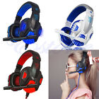 USB 3.5mm Surround Stereo Gaming Headset Headband Headphone with Mic For PC Hot
