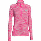 Under Armour Tech 1/4 Zip Space Dye Womens Running Shirt