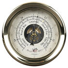 Brass Ships Captain's Weather Barometer Wall Mantle Desk Authentic Models New