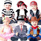 Fun Baby 0-24 Months Fancy Dress Uniform Girls Boys Infant Toddler Costume New