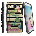 For Various Samsung Phone Models Dual Layer Protection Combo Case Colorful Birds