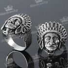 Cool Mens Gothic Stainless Steel Mens Finger Rings Gift us9/10/11