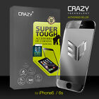 3D Full Cover 9H CRAZY Tempered Glass Screen Protector Film for iPhone 6 6s