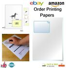 EBay Amazon Order Printing Paper Integrated Labels eBay Invoice Amazon Invoice