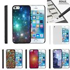 For Apple iPhone SE| iPhone 5| iPhone 5s| Slim Fit Hard 2 Piece Case Galaxies
