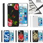 For iPhone SE| iPhone 5| iPhone 5s| Slim Fit Hard 2 Piece Case Affectionate Rose