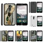 For LG Stylus 2 | Stylo 2| Slim Fit Hard Case + Image Decal Hunting