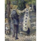 1876 Pierre-Auguste Renoir The Swing French Impressionist Painting Art Poster