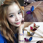 Colorful New Bow Rabbit Ears Word Folder Hairpin Hair Clip Side Clips Hair Gift