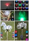 exquisite flowers - Garden Decoration Solar Powered Color Changing Pathway Lawn Patio Stake Light