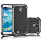 For Samsung Galaxy S4 S IV I9500 Hybrid Rugged Rubber Matte Hard Case Cover Skin