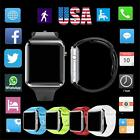 US 5 Color A1 Smart Watch Bluetooth Waterproof GSM SIM Cam For Android iOS Phone