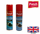 PUNCH SUEDE RENOVATOR AEROSOL 200ML BLACK AND DARK BROWN COLOURS AVAILABLE