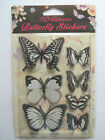 3D Butterfly's  7 in a pack - 10 colours