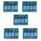 5V 12V 4-Channel Relay Module With Optocoupler High Level Triger For Arduino