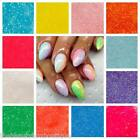 20g Bag Mermaid Effect Glitter - Fine Dust Iridescent Neon Nail Art Gel Acrylic